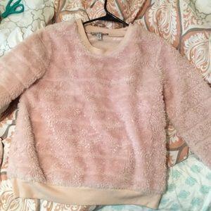 Fur pullover